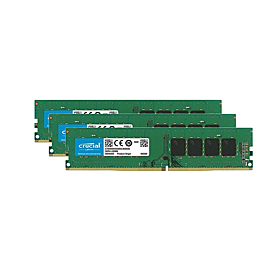 3× Crucial 4GB DDR3L-1600 LO-DIMM CT51264BD160BJ