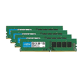 4× Crucial 4GB DDR3L-1600 LO-DIMM CT51264BD160BJ