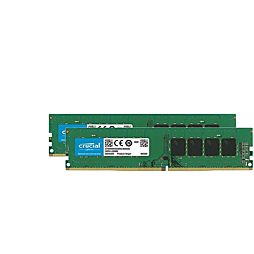 CRUCIAL 8GB UDIMM DDR4 2666MHz PC4-21300 CL19 1.2V Single Ranked x8