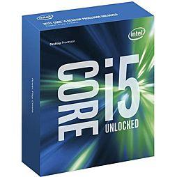 INTEL cpu CORE i5-6600K 1151 BOX 91W