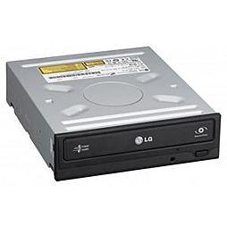 LG GH24NSD1 DVD±RW vypalovačka SATA zápis 24x DVD-R, 8x DL, 6x RW, 48x CD-R černá