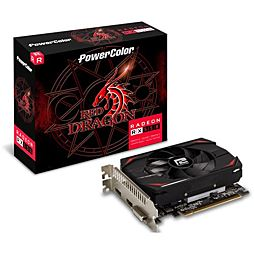 Powercolor Radeon RX 550 Red Dragon 128Bit D/H/DP 4GB