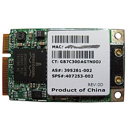 WiFi proHP Compaq nc6400 nx6310 nx7300 nx7400 nw8440 407253-002 395261-002