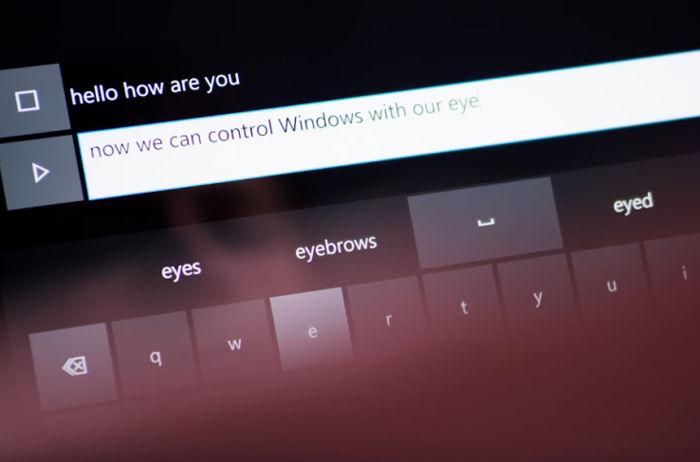 Ve Windows 10 najdete nativní podporu sledování očí